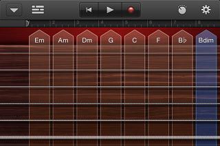 GarageBand ギター