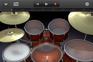 GarageBand ドラム