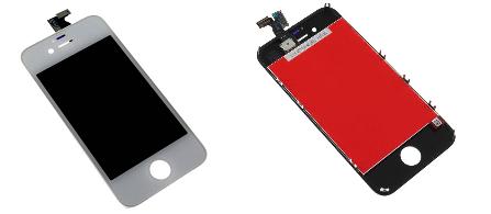 iPhone4S 対応 交換パーツ デジタイザー タッチパネル