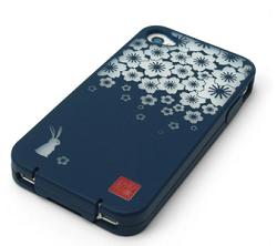 iPhone4S/4用和風ソフトケース『和彩美「ふるる」