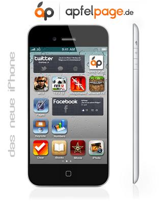 4インチ版iPhone モックアップ