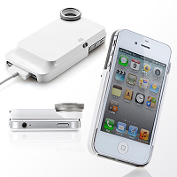 iPhone4S・4マイクロスコープ