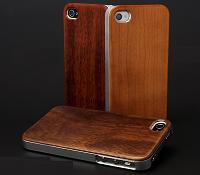 ハイブリッドウッドケース for iPhone4S/4