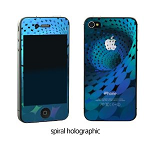 SKY BRIGHT BLUE protector film for iPhone4S/4