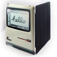 「Hello Mac」 Back Cover for iPad2 and Smart Cover