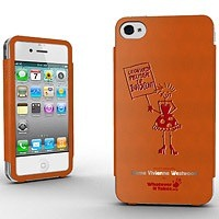 Whatever it Takes プレミアムシグネチャーケース for iPhone 4/4S Dame Vivienne Westwood