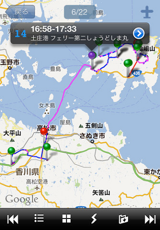 Autodiary-GPS