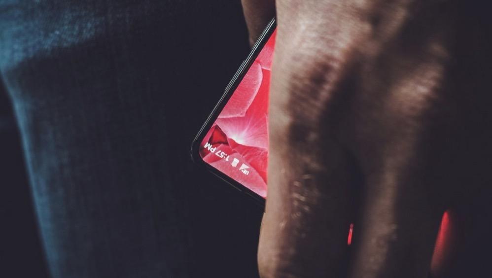 Essentialのスマートフォン