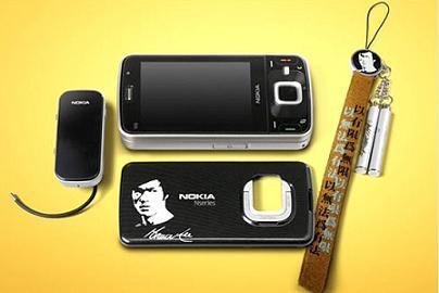 Nokia N96にブルースリーエディション