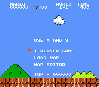 Javascript Super Mario Bros 1