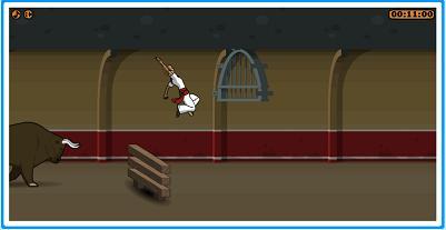 Extreme Pamplona ゲーム画面