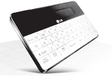 LGのクレジットカードサイズキーボード「LBA-C300」