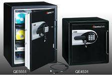 耐火・耐水 USBポート付デジタルデータストレージ「QE5551」、「QE4531」