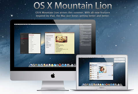 Mac OS X「OS X Mountain Lion」