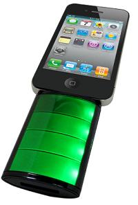 +M Battery iPhone/iPod アイコン型バッテリー MB02