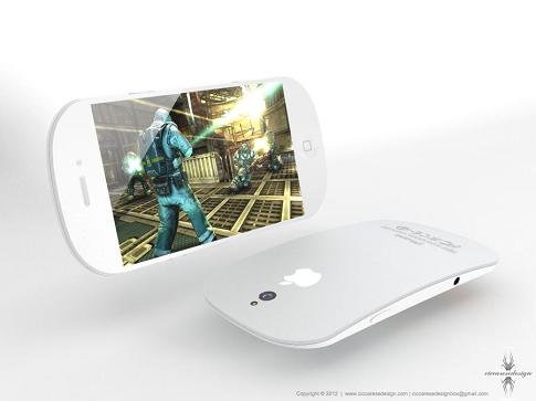 iPhone 5 イメージデザイン