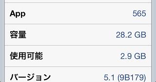 現在のアプリインストール数