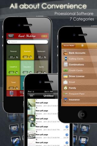 実用的なアプリ集