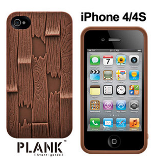 SwitchEasy Avant-garde for iPhone 4S/4 Plank Brown