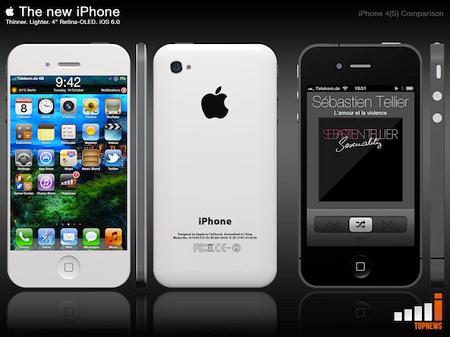 新型iPhoneのイメージデザイン