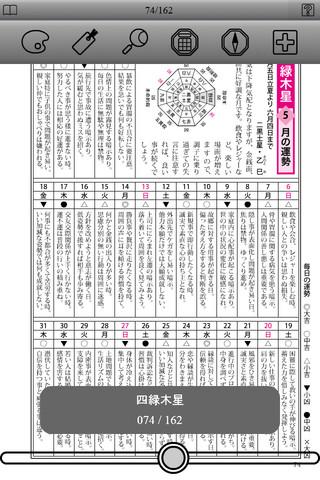 平成二十四年 運勢暦