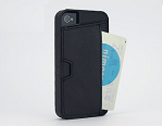iPhone4S/4用カードホルダー付きケース『Qcard case for iPhone4S/4』