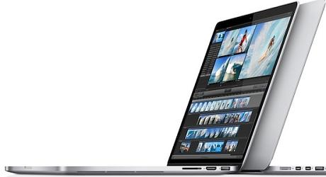 13インチのMacBook Pro Retinaディスプレイモデル