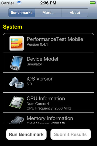 PerformanceTest Mobile