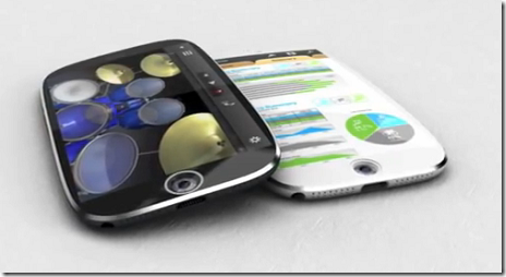 曲面ディスプレイを採用したiPhone