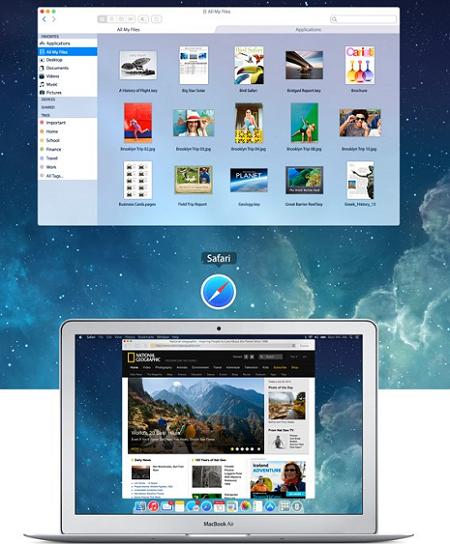 Mac OSがフラット化したらこんな