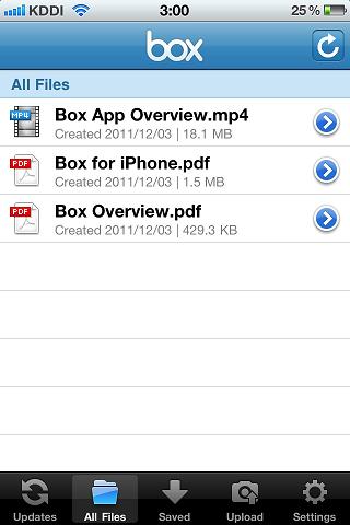 iPhoneアプリ版「box」