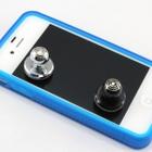 静電容量式タッチパネル用 吸盤式 アルミ製 ミニジョイスティック DNSB-NPHO-MINIARCDSTKシリーズ