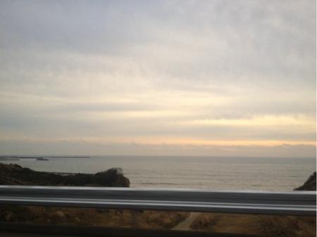 九十九里平野の海