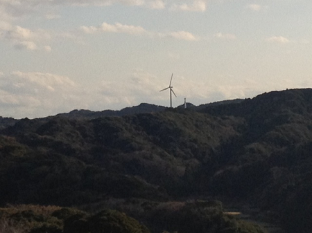 館山城 天守閣からの眺め