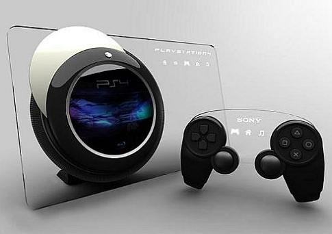 PS4のコンセプトデザイン