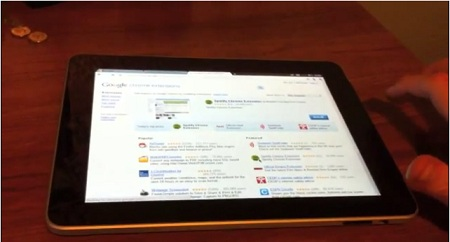 iPadで「Chrome OS」