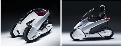 三輪のコンセプトモデル「Honda 3R-C Concept」