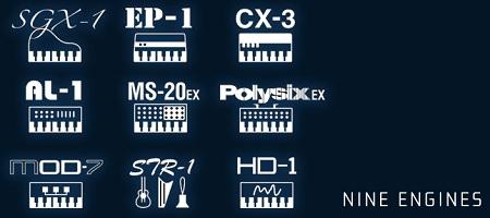 KRONOS(クロノス)の9つのシンセエンジン
