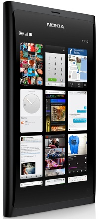 NokiaのMeeGo搭載スマートフォン「N9」