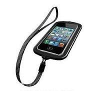 BUFFALO BSIP11PCWPBK(ブラック) 防水ケース iPhone4S/4用