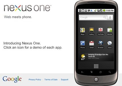 GoogleのAndroidフォン「Nexus One」がキタ━━━━(゚∀゚)━━━━ッ!!