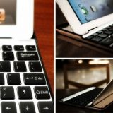 Aluminium Keyboard Buddy Case For iPad2