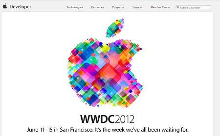 AppleのWWDC 2012が6月11日に開催→チケットは2時間で完売