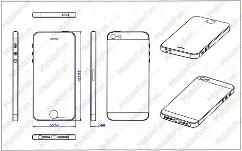 【アップル瓦版】iPhone 5用ケースの設計図が流出!?
