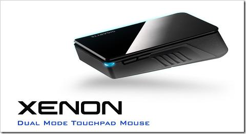 マウスにもタッチパッドにもなる!世界初のデュアルモード タッチパッドマウス「XENON」