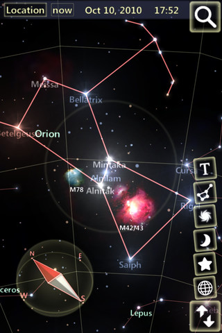 StarTracker for iPhone 4S