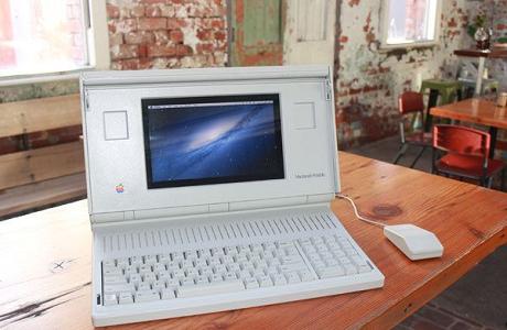 【アップル瓦版】Macintosh PortableでOS Xが動いているぞ!
