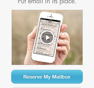 今一番気になるメールアプリ「Mailbox」を事前登録してみた