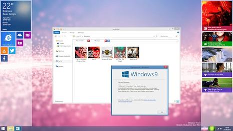 「Windows 9」のコンセプト画像
