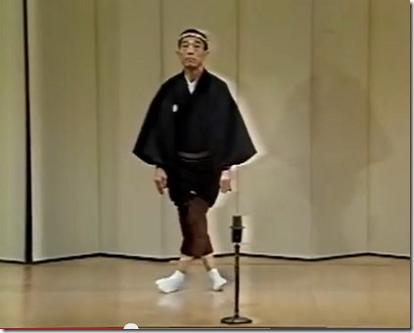 九代目雷門助六の「あやつり踊り」